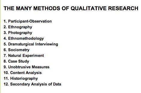 Thesis using quantitative research